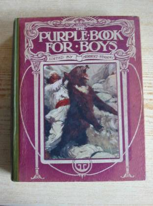 Photo of THE PURPLE BOOK FOR BOYS written by Strang, Herbert Lusignan, G. Gilson, Captain Charles et al,  published by Hodder & Stoughton, Henry Frowde (STOCK CODE: 735574)  for sale by Stella & Rose's Books