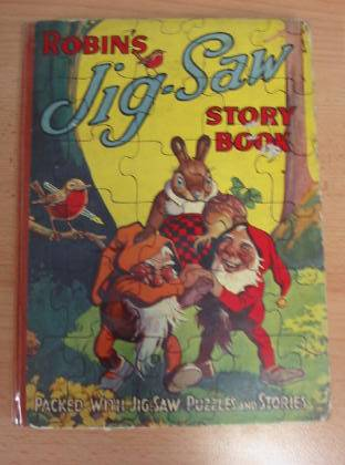 Photo of ROBIN'S JIG-SAW STORY BOOK- Stock Number: 735698