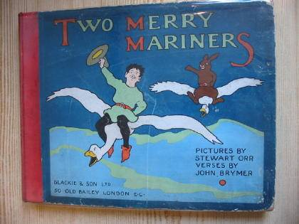 Photo of TWO MERRY MARINERS written by Brymer, John illustrated by Orr, Stewart published by Blackie & Son Ltd. (STOCK CODE: 736486)  for sale by Stella & Rose's Books