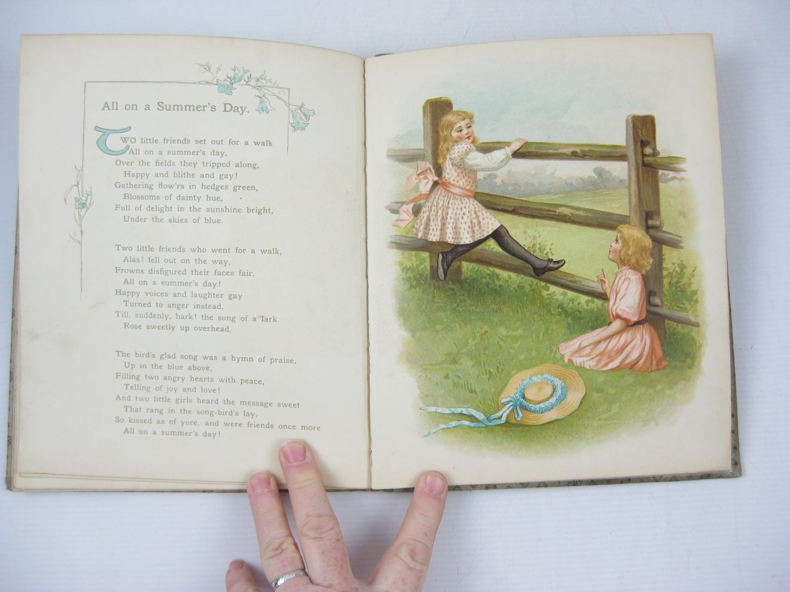 Photo of WHEN MOTHER WAS A LITTLE GIRL written by Blanchard, Amy et al, illustrated by Waugh, Ida published by Ernest Nister (STOCK CODE: 737006)  for sale by Stella & Rose's Books