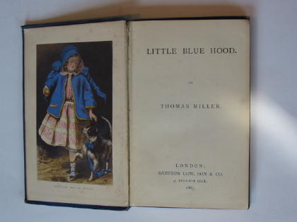 Photo of LITTLE BLUE HOOD written by Miller, Thomas published by Sampson Low, Son & Co. (STOCK CODE: 738342)  for sale by Stella & Rose's Books