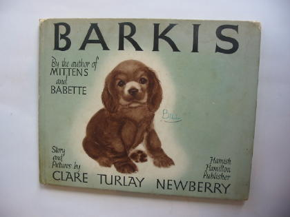 Photo of BARKIS written by Newberry, Clare Turlay illustrated by Newberry, Clare Turlay published by Hamish Hamilton (STOCK CODE: 738512)  for sale by Stella & Rose's Books