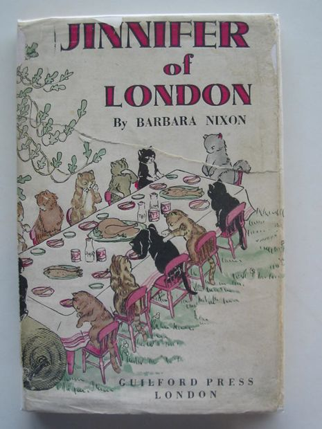 Photo of JINNIFER OF LONDON written by Nixon, Barbara illustrated by Nixon, Barbara published by Guilford Press (STOCK CODE: 802995)  for sale by Stella & Rose's Books