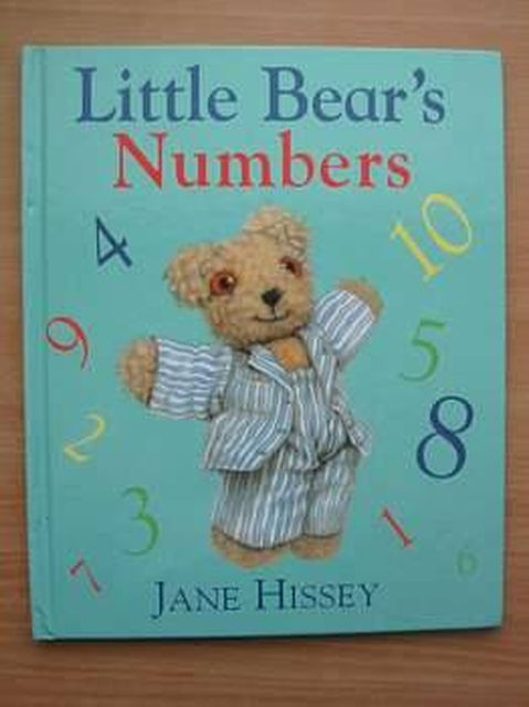 Photo of LITTLE BEAR'S NUMBERS written by Hissey, Jane illustrated by Hissey, Jane published by Hutchinson (STOCK CODE: 804959)  for sale by Stella & Rose's Books