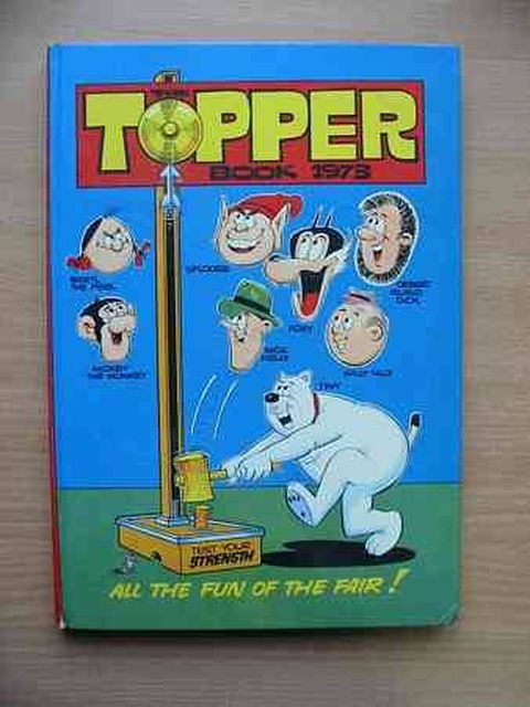 Photo of THE TOPPER BOOK 1973 published by D.C. Thomson & Co Ltd. (STOCK CODE: 805207)  for sale by Stella & Rose's Books