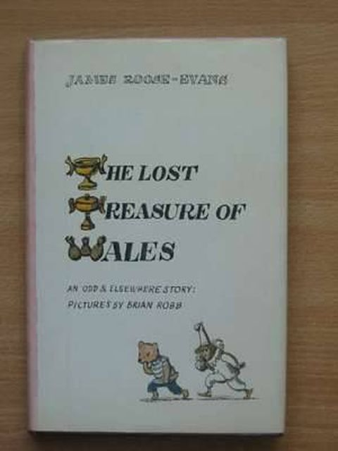 Photo of THE LOST TREASURE OF WALES written by Roose-Evans, James illustrated by Robb, Brian published by Andre Deutsch (STOCK CODE: 805318)  for sale by Stella & Rose's Books