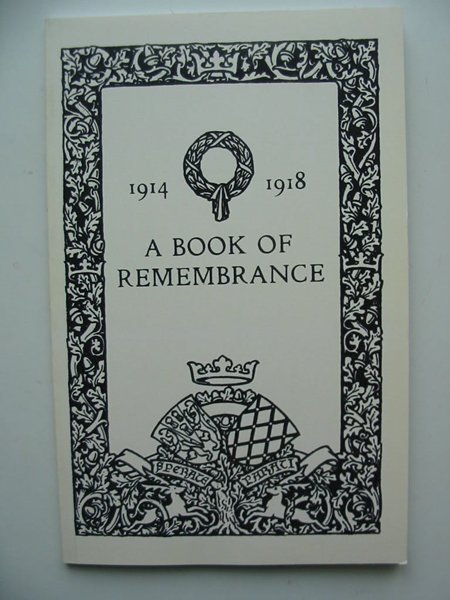 Photo of A BOOK OF REMEMBRANCE- Stock Number: 806313