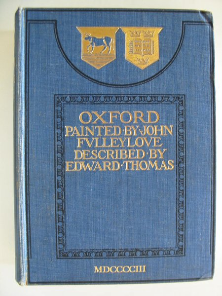 Photo of OXFORD written by Thomas, Edward illustrated by Fulleylove, John published by A. & C. Black (STOCK CODE: 806637)  for sale by Stella & Rose's Books
