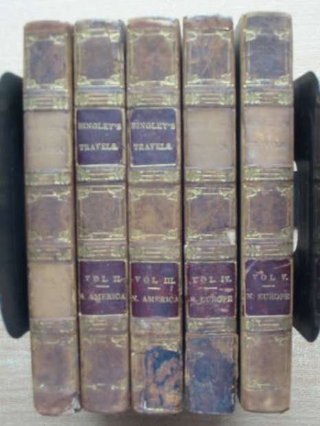 Photo of TRAVELS (FIVE VOLUMES) written by Bingley, William published by John Sharpe (STOCK CODE: 807351)  for sale by Stella & Rose's Books