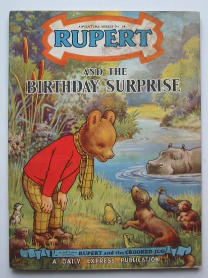 Photo of RUPERT ADVENTURE SERIES No. 24 - RUPERT AND THE BIRTHDAY SURPRISE written by Bestall, Alfred published by Daily Express (STOCK CODE: 808232)  for sale by Stella & Rose's Books