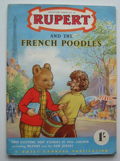 Photo of RUPERT ADVENTURE SERIES No. 25 - RUPERT AND THE FRENCH POODLES written by Bestall, Alfred published by Daily Express (STOCK CODE: 808234)  for sale by Stella & Rose's Books