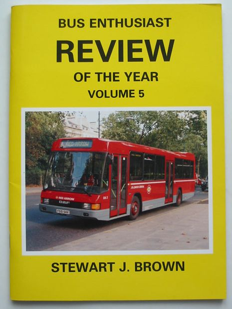 Photo of BUS ENTHUSIAST REVIEW OF THE YEAR VOLUME 5 written by Brown, Stewart J. published by Bus Enthusiast Publishing Company (STOCK CODE: 808664)  for sale by Stella & Rose's Books