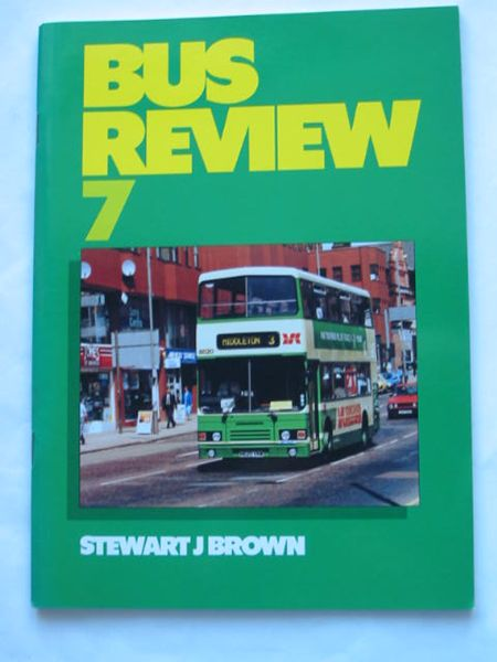 Photo of BUS REVIEW 7 written by Brown, Stewart J. published by Bus Enthusiast Publishing Company (STOCK CODE: 809334)  for sale by Stella & Rose's Books