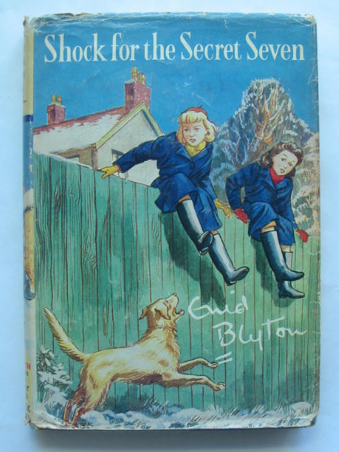 Photo of SHOCK FOR THE SECRET SEVEN written by Blyton, Enid illustrated by Sharrocks, Burgess published by Brockhampton Press (STOCK CODE: 809748)  for sale by Stella & Rose's Books