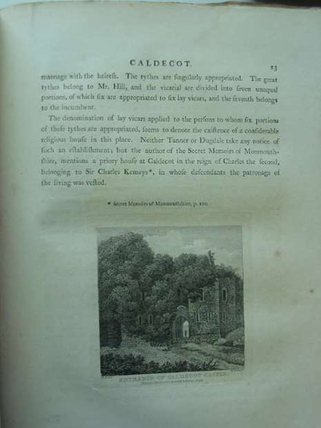 Photo of AN HISTORICAL TOUR IN MONMOUTHSHIRE written by Coxe, William illustrated by Hoare, R.C. published by T. Cadell and W. Davies (STOCK CODE: 810342)  for sale by Stella & Rose's Books