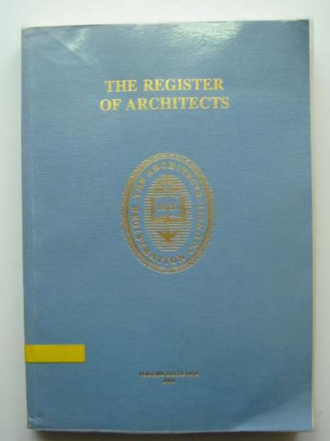 Photo of THE REGISTER OF ARCHITECTS 1994- Stock Number: 810379