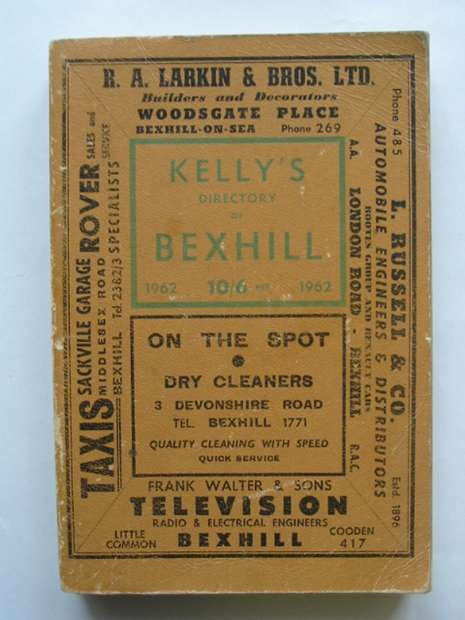 Photo of KELLY'S DIRECTORY OF BEXHILL- Stock Number: 810489