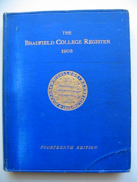 Photo of THE BRADFIELD COLLEGE REGISTER- Stock Number: 811100