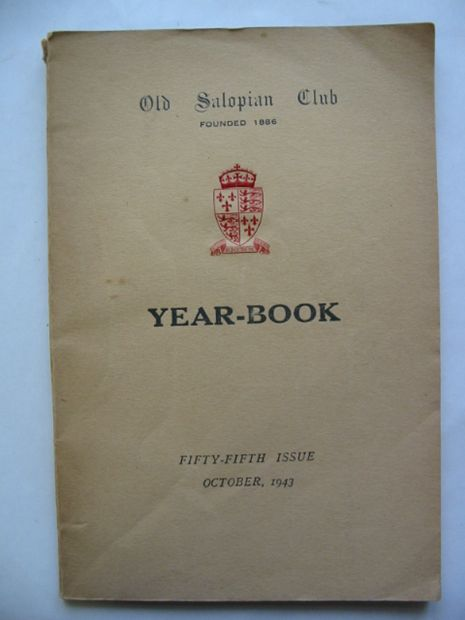 Photo of OLD SALOPIAN CLUB YEAR-BOOK 1943 published by Wilding & Son Ltd. (STOCK CODE: 811144)  for sale by Stella & Rose's Books