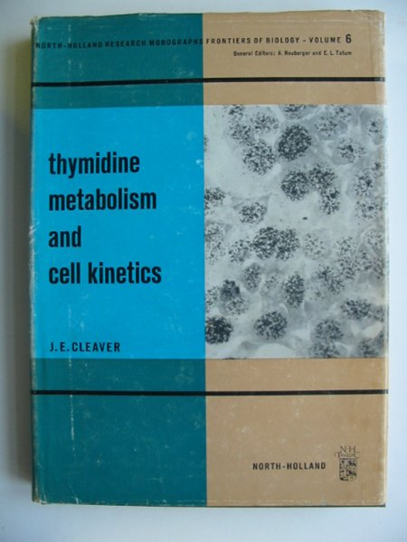 Photo of THYMIDINE METABOLISM AND CELL KINETICS written by Cleaver, J.E. published by North-Holland Publishing Company (STOCK CODE: 811264)  for sale by Stella & Rose's Books