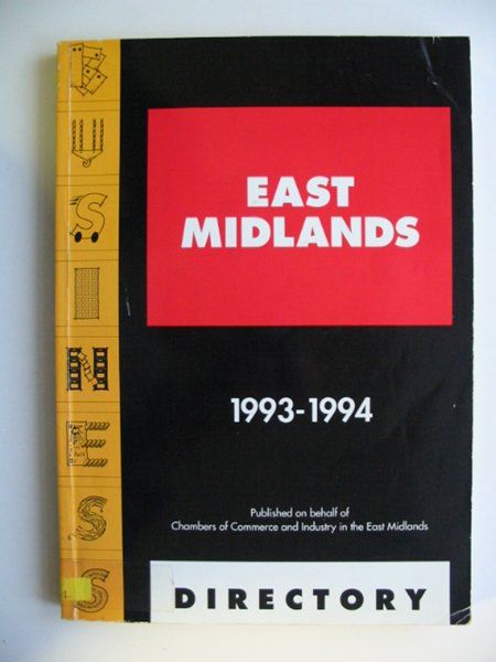 Photo of EAST MIDLANDS BUSINESS DIRECTORY 1993-1994- Stock Number: 811282