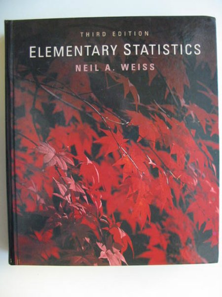 Photo of ELEMENTARY STATISTICS written by Weiss, Neil A. published by Addison-Wesley Publishing Company Inc. (STOCK CODE: 811390)  for sale by Stella & Rose's Books