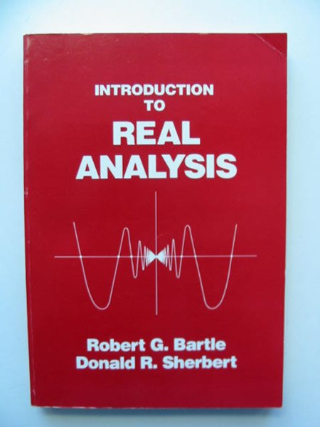 Photo of INTRODUCTION TO REAL ANALYSIS written by Bartle, Robert G. Sherbert, Donald R. published by John Wiley & Sons (STOCK CODE: 811602)  for sale by Stella & Rose's Books