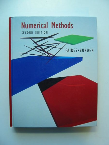 Photo of NUMERICAL METHODS written by Faires, J. Douglas Burden, Richard L. published by Brooks Cole (STOCK CODE: 811620)  for sale by Stella & Rose's Books