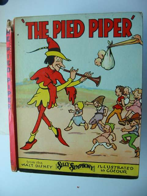 Photo of THE PIED PIPER written by Disney, Walt illustrated by Disney, Walt published by John Lane The Bodley Head (STOCK CODE: 812858)  for sale by Stella & Rose's Books