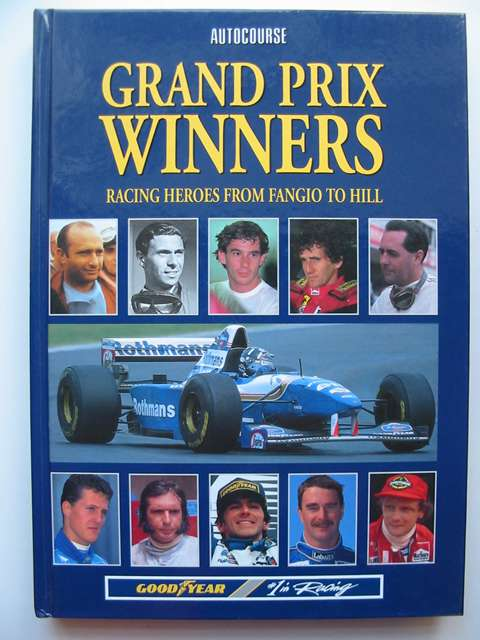 Photo of GRAND PRIX WINNERS written by Jenkinson, Denis<br />et al,  published by Hazleton Publishing (STOCK CODE: 812906)  for sale by Stella & Rose's Books
