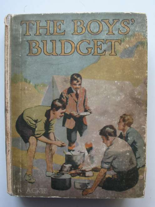 Photo of THE BOYS' BUDGET written by Westerman, Percy F. et al,  illustrated by Prater, Ernest et al.,  published by Blackie & Son Ltd. (STOCK CODE: 813799)  for sale by Stella & Rose's Books