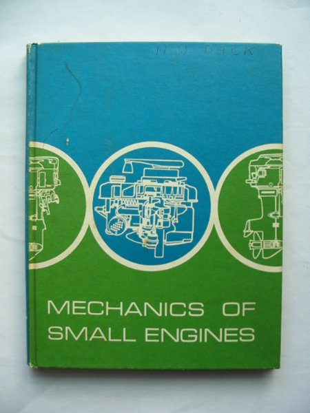 Photo of MECHANICS OF SMALL ENGINES- Stock Number: 814368