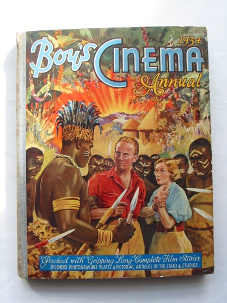 Photo of BOY'S CINEMA ANNUAL 1934 published by The Amalgamated Press (STOCK CODE: 814397)  for sale by Stella & Rose's Books
