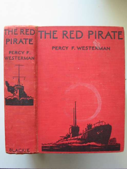 Photo of THE RED PIRATE written by Westerman, Percy F. illustrated by Hilder, Rowland published by Blackie & Son Ltd. (STOCK CODE: 814498)  for sale by Stella & Rose's Books