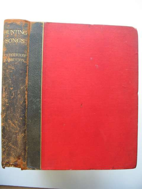 Photo of HUNTING SONGS written by Egerton-Warburton, R.E. published by Henry Young & Sons (STOCK CODE: 814548)  for sale by Stella & Rose's Books