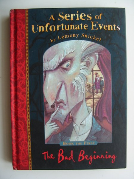 Photo of A SERIES OF UNFORTUNATE EVENTS: THE BAD BEGINNING- Stock Number: 814730