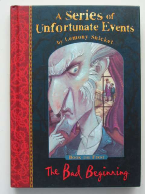 Photo of A SERIES OF UNFORTUNATE EVENTS: THE BAD BEGINNING- Stock Number: 814794
