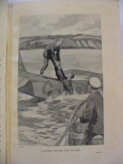 Photo of RINGED BY FIRE written by Westerman, Percy F. illustrated by Wigfull, W. Edward published by Blackie & Son Ltd. (STOCK CODE: 814829)  for sale by Stella & Rose's Books