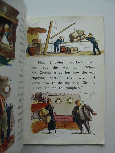 Photo of TIM AND LUCY GO TO SEA written by Ardizzone, Edward illustrated by Ardizzone, Edward published by Oxford University Press (STOCK CODE: 814932)  for sale by Stella & Rose's Books