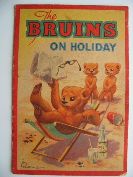 Photo of THE BRUINS ON HOLIDAY published by Alf Cooke Ltd. (STOCK CODE: 815046)  for sale by Stella & Rose's Books