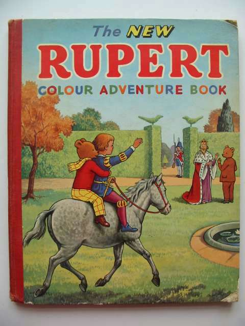 Photo of THE NEW RUPERT COLOUR ADVENTURE BOOK- Stock Number: 815177