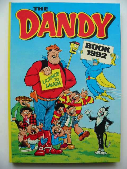 Photo of THE DANDY BOOK 1992- Stock Number: 816167