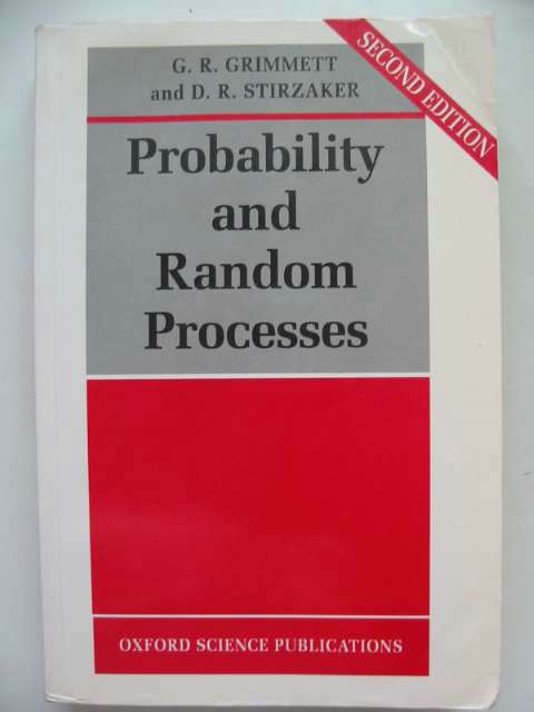 Photo of PROBABILITY AND RANDOM PROCESSES written by Grimmett, Geoffrey