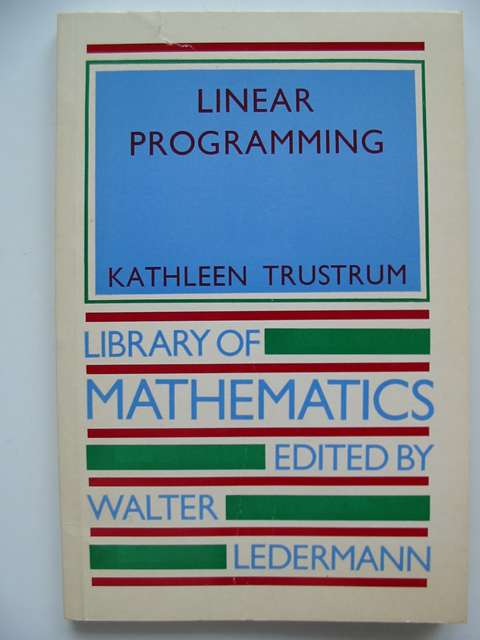 Photo of LINEAR PROGRAMMING- Stock Number: 816312