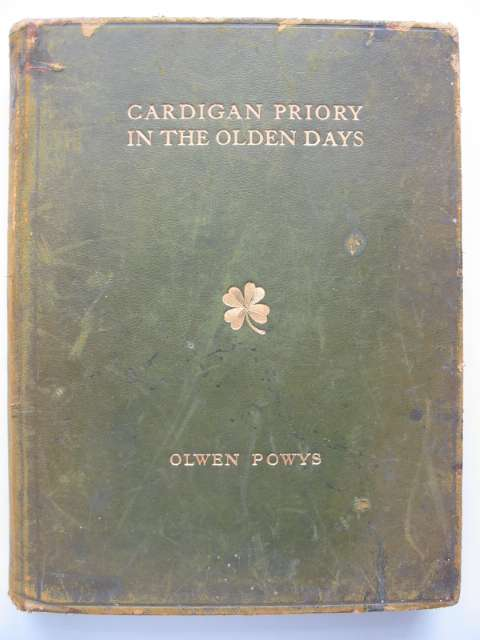 Photo of CARDIGAN PRIORY IN THE OLDEN DAYS written by Pritchard, Emily M
