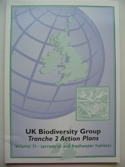 Photo of UK BIODIVERSITY GROUP TRANCHE 2 ACTION PLANS VOLUME II - TERRESTRIAL AND FRESWATER HABITATS published by English Nature (STOCK CODE: 817613)  for sale by Stella & Rose's Books