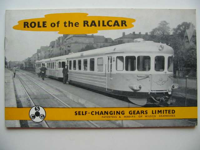 Photo of ROLE OF THE RAILCAR (STOCK CODE: 817654)  for sale by Stella & Rose's Books