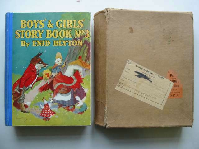 Photo of BOYS' AND GIRLS' STORY BOOK NO. 3 written by Blyton, Enid illustrated by McGavin, Hilda<br />Aris, Ernest A.<br />Venus, Sylvia published by News Chronicle (STOCK CODE: 818035)  for sale by Stella & Rose's Books