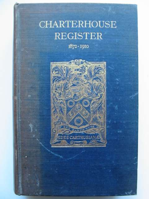 Photo of CHARTERHOUSE REGISTER 1872-1910 VOLUME II published by Chiswick Press (STOCK CODE: 818458)  for sale by Stella & Rose's Books