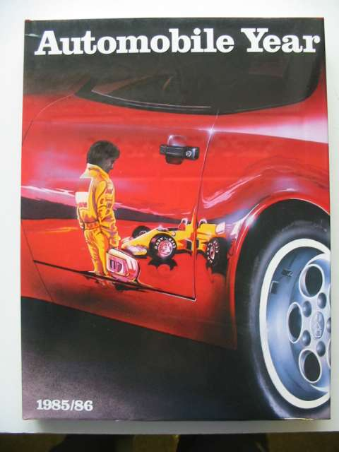 Photo of AUTOMOBILE YEAR No. 33 published by Editions 24 Heures (STOCK CODE: 818748)  for sale by Stella & Rose's Books